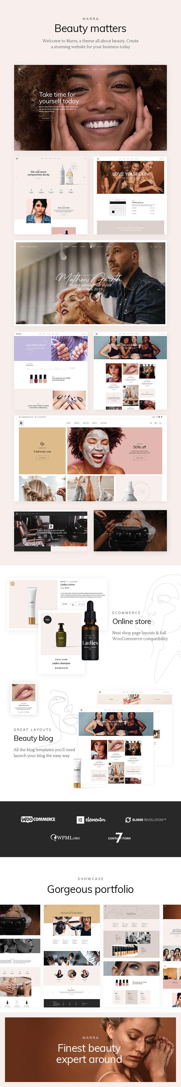 Marra - Beauty WordPress Theme - 2